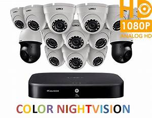 Lorex Powerful 1080p Hd Security System With 4k Dvr  Two
