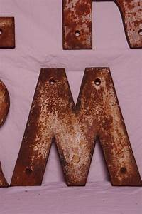 cast iron letters stalking cat antiques macedon With cast iron letters