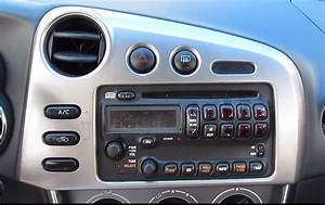 Diy  How To Install Aftermarket Stereo For Toyota Matrix