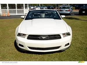 2010 Performance White Ford Mustang V6 Premium Convertible #87057761 Photo #2 | GTCarLot.com ...