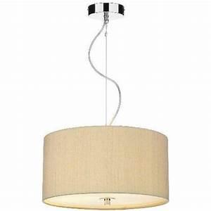 Drum shaped pendant lights nest chrome