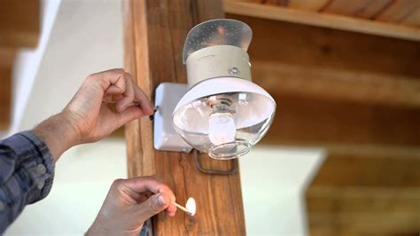 how to turn on the propane lights