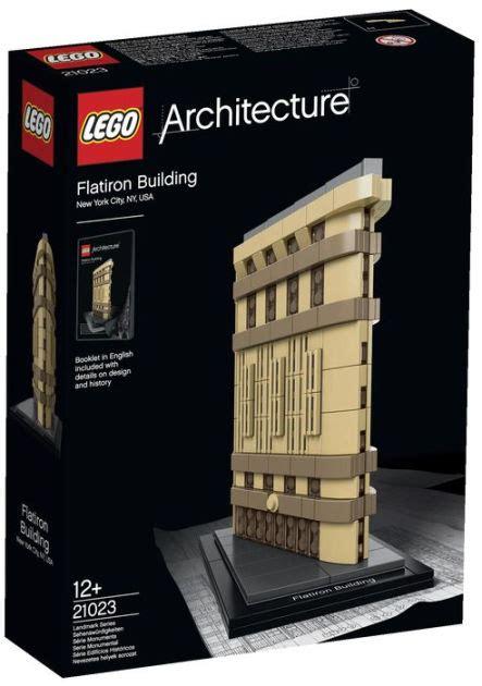 Lego® Architecture Flatiron 21023  673419232180 Item