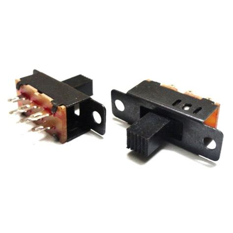 Three Way Slide Switch Spdt Center Off