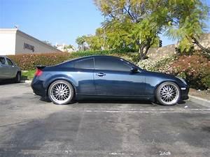 2004 Infiniti G35 Coupe Twilight Blue