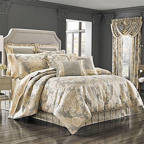 queen  york rialto comforter set bed bath