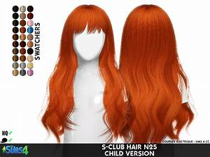 S-CLUB HAIR N25 CHILD VERSION REDHEADSIMS - CC