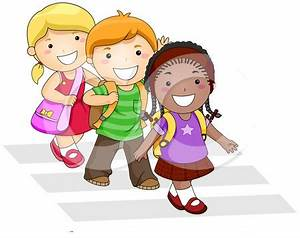 Walking To School Clipart - Clipart Suggest
