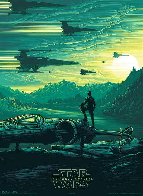 Return Of The Jedi Hd Amc Imax Star Wars Commemorative Poster Giveaways Imax