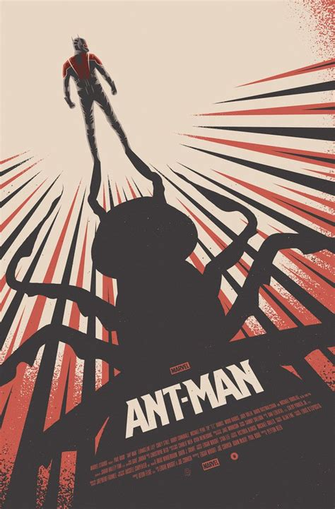 cool stuff poster posse ant man artwork tribute key art