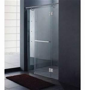 paroi de douche design achat paroi de douche design With porte de douche coulissante avec meuble haut salle de bain wenge