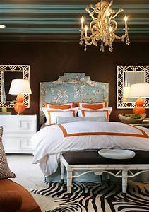 turquoise room 12 ideas for inspiration With brown and orange bedroom ideas