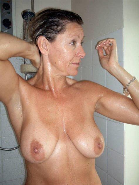 04 In Gallery Busty Amateur Milf Taking A Shower