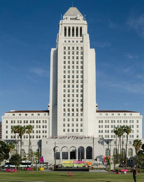 Filelos Angeles City Hall Front View 2014jpg Wikimedia