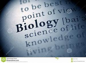 Biology Stock Photo  Image Of Blue  Macro  Book  Close