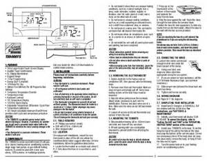 Lux Thermostat Instruction Manual