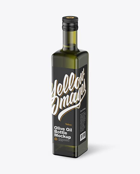 Glass with spoon and green olives, jar, various bottles of aromatic olive oil with and branches on white table. 375ml Green Glass Olive Oil Bottle Mockup in Bottle ...