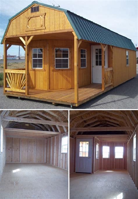 tiny houses made from sheds playhouse turned into a cozy tiny home home design