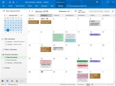 color categories view shared calendar category colors