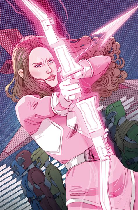 Mighty Morphin Power Rangers: Pink Ranger Gets Her Own ...
