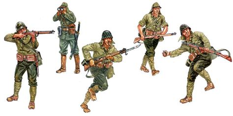 Japanese Infantry Giappone Giapponese