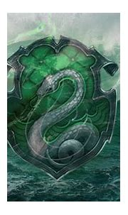 Slytherin Logo In Sea Background HD Slytherin Wallpapers ...