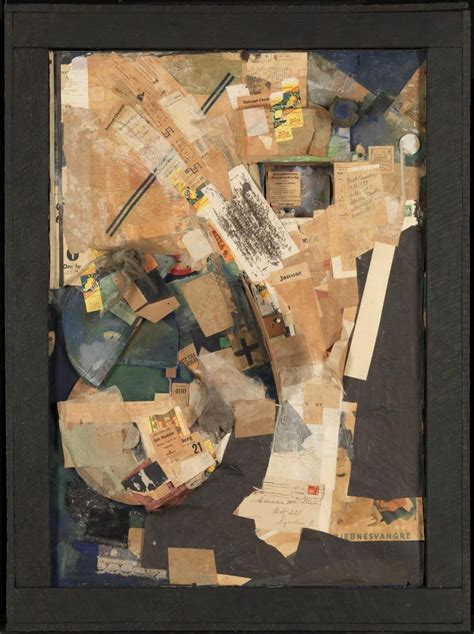 kurt schwitters picture  spatial growths picture