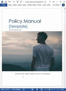 Download Policy  U0026 Procedures Manual Templates  Ms Word 68 Pages  With Free Checklists  Templates