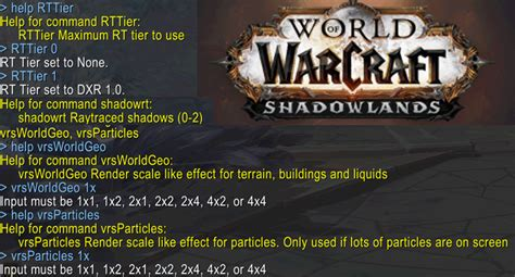 World of Warcraft Shadowlands gets support for DirectX Ray ...