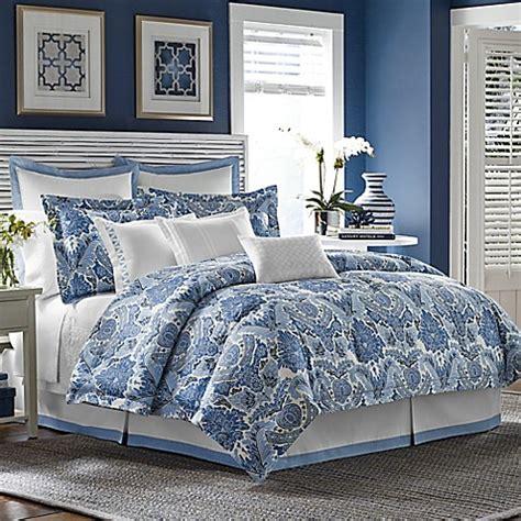 tommy bahama porcelain paradise comforter set  blue