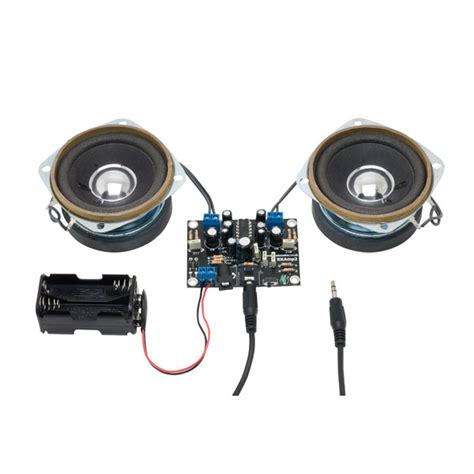 Rapid Stereo Amplifier Kit With Speakers Online