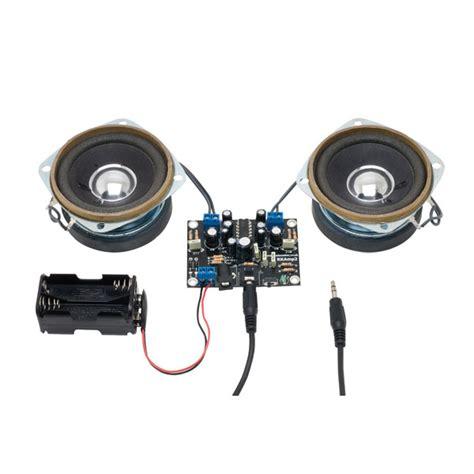 rapid  stereo amplifier kit  speakers rapid