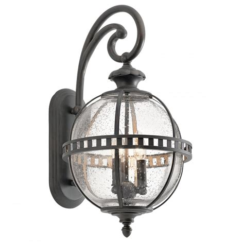 new york style wall lights globe style exterior wall lantern in londonderry