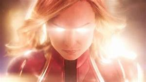 First Captain Marvel Trailer Delivers Cosmic Action And