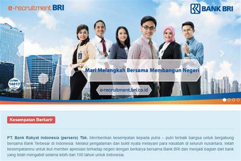 lowongan kerja bank bri bojonegoro  terbaru mulai