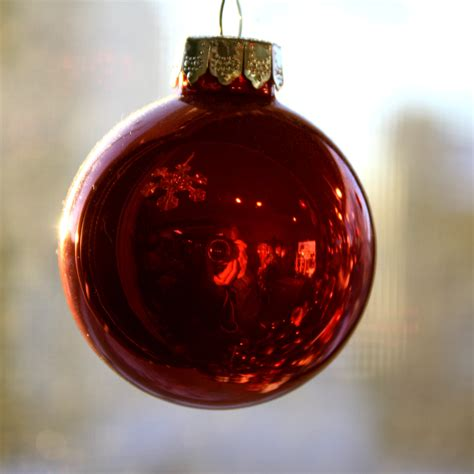 red christmas ball ornament picture free photograph photos public domain
