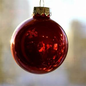 Red, Christmas, Ball, Ornament, Picture