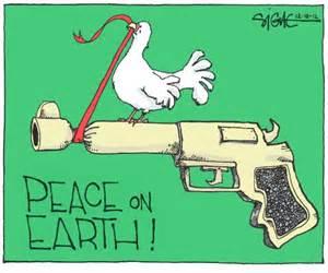 Cartoon Peace On Earth
