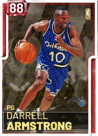darrell armstrong  nba  myteam ruby card