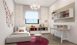 Contemporary girls room design interior design ideas for Interior design of room for girls
