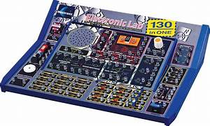 130 In 1 Electronics Project Lab Kit Kids Learn