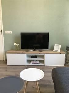 Ikea Tv Möbel : inspiratie ikea besta tv meubel steigerhout huis ~ Lizthompson.info Haus und Dekorationen