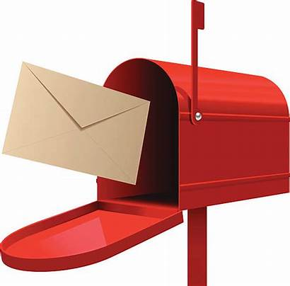 Mailbox Clipart Envelope Vector Mailed Clip Ready