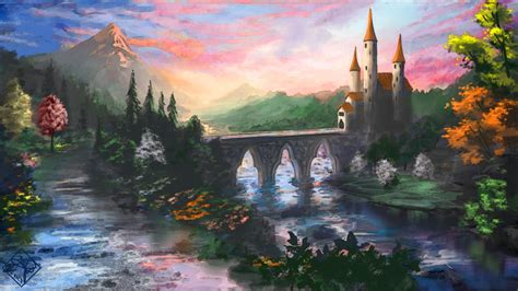 fairy tales castles hd wallpapers high quality