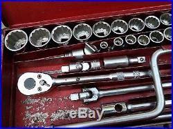 Vintage Set Af used tools vintage britool socket set af ww