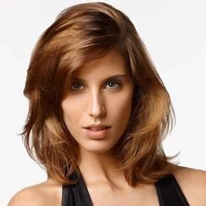 Coupe Cheveux Tete Ronde : coiffure pour tete ovale femme ~ Melissatoandfro.com Idées de Décoration
