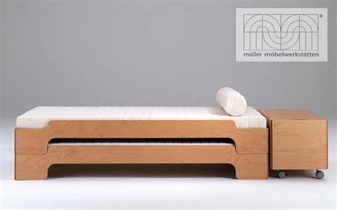 canap bois design photos canapé lit gigogne bois