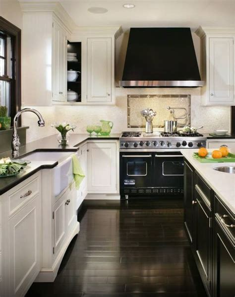 white kitchen dark counters white cabinets black counter black island white counter 304 | b5e071e92ce62424c7062a4232fd9d46