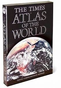 Graphic Letters The Times Atlas Of The World By London Times New York