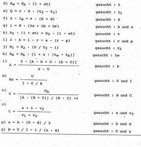 Ssw Nach Et Berechnen : formeln umstellen mathe b rozubeh r ~ Themetempest.com Abrechnung